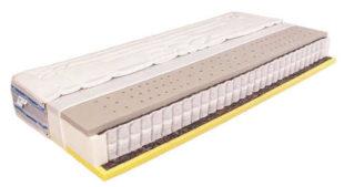 Oboustranná antibakteriální matrace Mabo Venta MEDIUM 90 x 200 cm s tužší a měkčí stranou