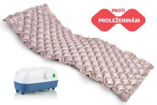 Komfortní vzduchová polštářková matrace proti proleženinám