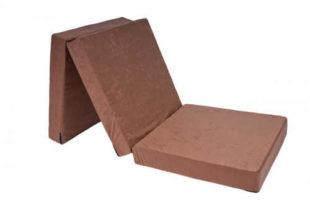 Praktická pěnová skládací matrace