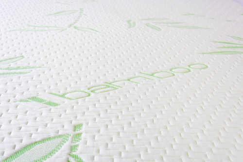 Hypoalergenní bambusový potah na matraci