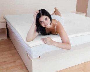 Matracový top Romeo z paměťové pěny 180 x 200 cm