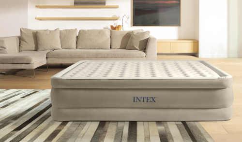Pohodlná nafukovací matrace pro hosty