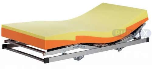 Česká pěnová matrace Purtex Enzo 180x200 cm vhodná do polohovacích postelí