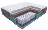Vysoká pevná matrace s taštičkovými pružinami a paměťovou pěnou Glory Firm 120x200