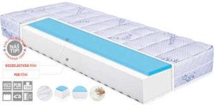 Komfortní matrace s levandulovou úpravou potahu