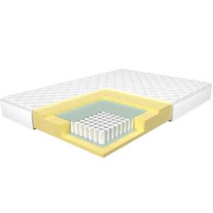 Středně tvrdá kvalitní taštičková matrace